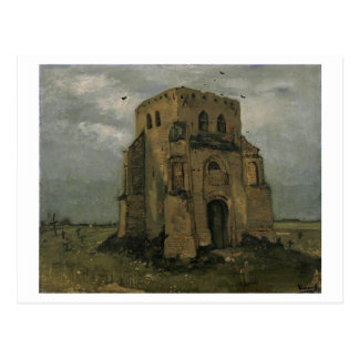 Old Church Tower Nuenen Van Gogh Fine Art Postcard