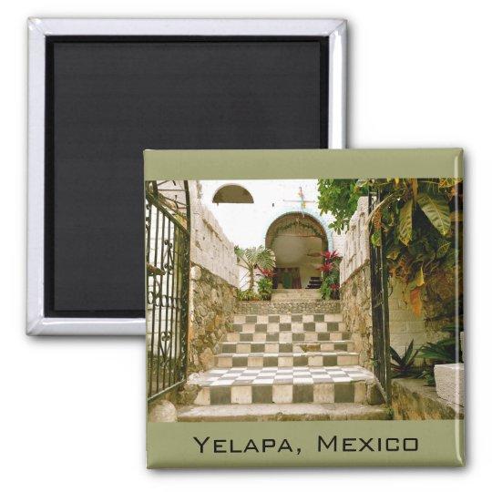 Old Church - Yelapa, Mexico Magnet
