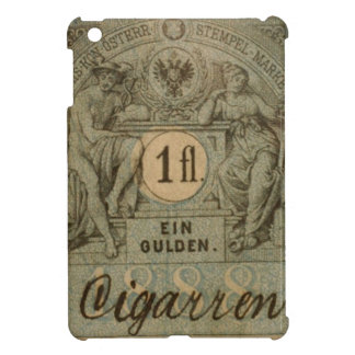 Old cigarette stamp iPad mini cover