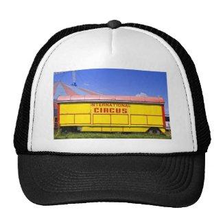 old circus wagon mesh hat