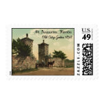 Old City Gates, St. Augustine, Florida 1898 Postage Stamp