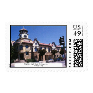 Old City Hall Postage Stamps