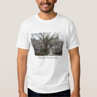Old City Hall, Richmond, VA in spring Tee Shirt