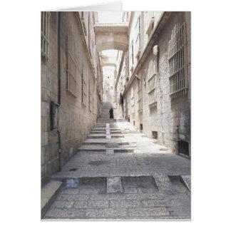 Old City Jerusalem Card