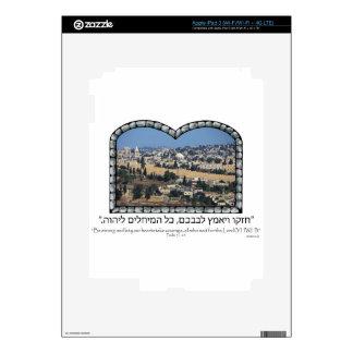 Old City Jerusalem iPad 3 Decal