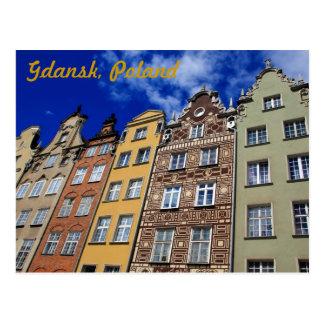 Old city of Gdansk, Poland Postcard