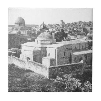 Old City of Jerusalem, ca. 1890 Tile