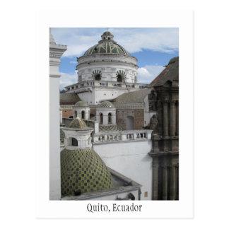 Old City Quito Ecuador Card Postcard