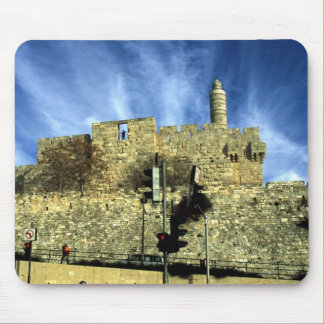 Old City Sky Mouse Pad