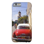 Old classic American auto in Guanabacoa a town Barely There iPhone 6 Case