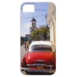 Old classic American auto in Guanabacoa a town iPhone 5 Covers