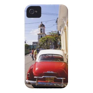 Old classic American auto in Guanabacoa a town iPhone 4 Case-Mate Cases