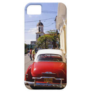Old classic American auto in Guanabacoa a town iPhone SE/5/5s Case