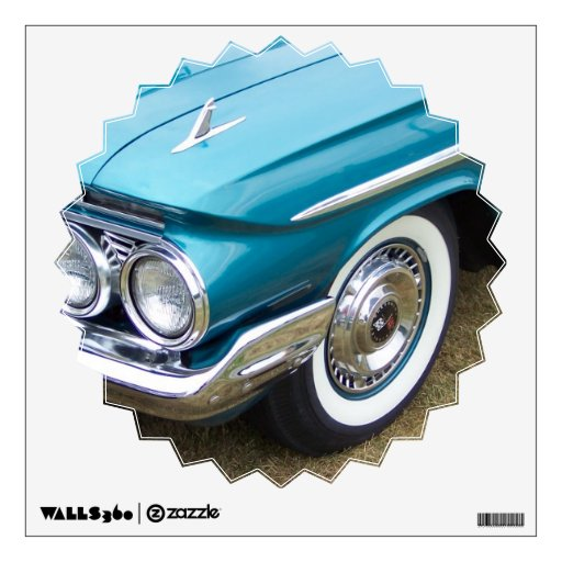old classic car impala wall graphic