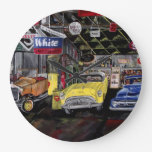Old Classic Car Wall Clock