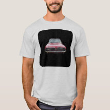 Old classic mercury cougar red front end T-Shirt