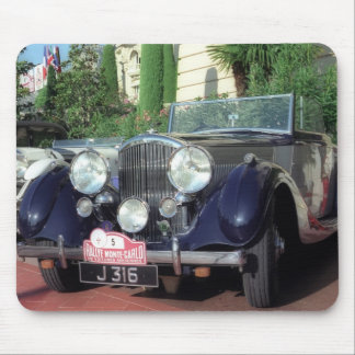 Old classic vintage car mouse pad