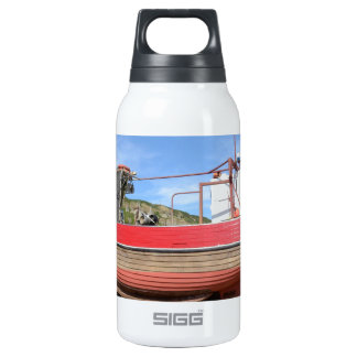 Old Clinker Fishing Boat Insulated Water Bottle