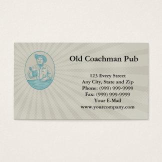 Old Coachman Pub Business card