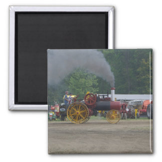 Old Coal Engine Tractor Magnet