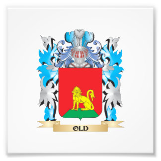 Old Coat of Arms - Family Crest Photograph