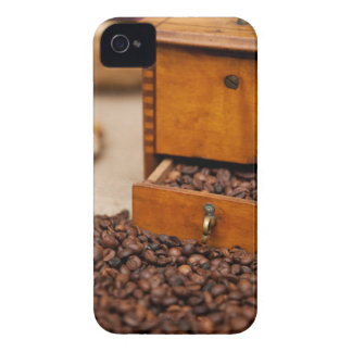 Old Coffee Grinder iPhone 4 Cover