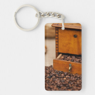 Old Coffee Grinder Keychain