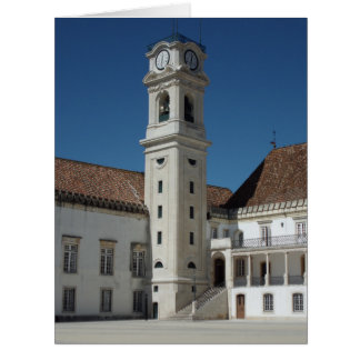 Old Coimbra University, Portugal Card