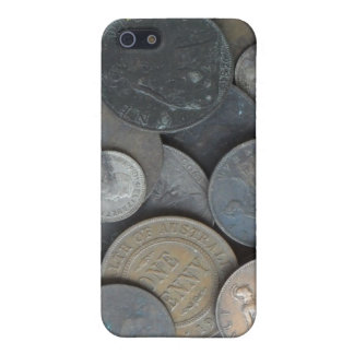 Old coins mainly pennies iPhone SE/5/5s cover