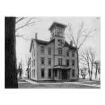 Old College, Evanston, built in 1855 Print