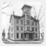 Old College, Evanston, built in 1855 Sticker
