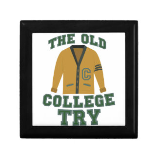 Old College Try Gift Box