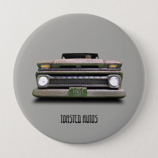 Old Colorado Pickup Truck Toasted Autos  Buttons