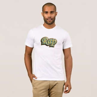 Old Colorful Rap Music T-Shirt