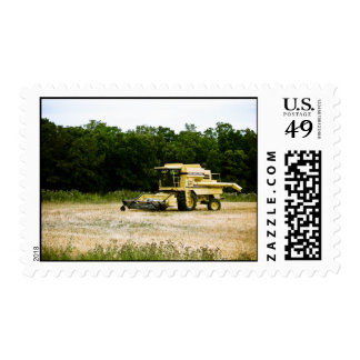 Old Combine 01 Postage