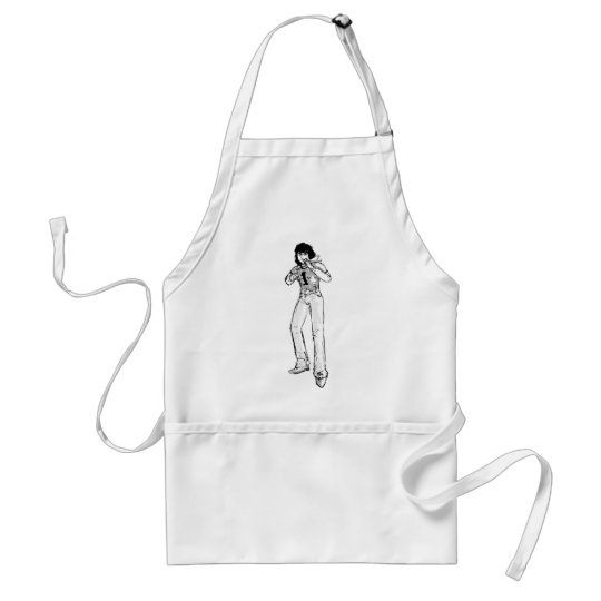 Old comic hero adult apron