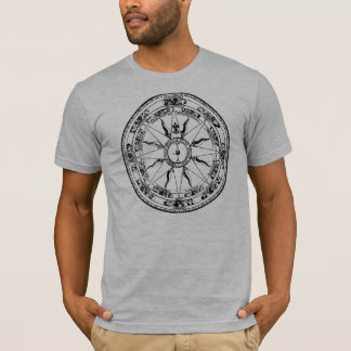 Old Compass Rose (B&W) T-Shirt