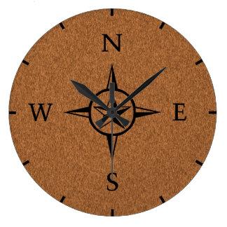 nautical star wall clocks zazzle