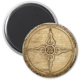 Old Compass Rose Magnet