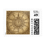Old Compass Rose Stamp