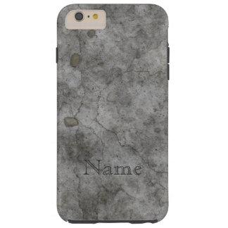 Old Concrete Tough iPhone 6 Plus Case
