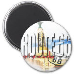 Old Conoco Gas Station, Texas - Route 66 Magnet