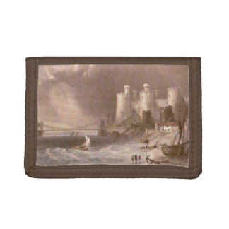 Old Conwy Quay Trifold Wallet