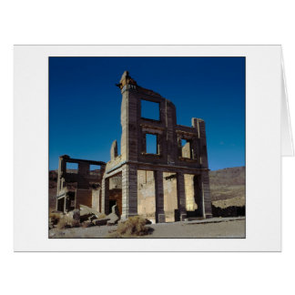 """"""" Old Cook Bank Building """" Card"""