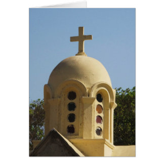 Old Coptic Church in Cairo, Egypt Cards