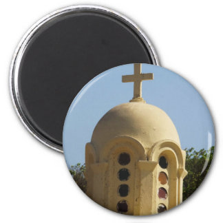 Old Coptic Church in Cairo, Egypt Magnets