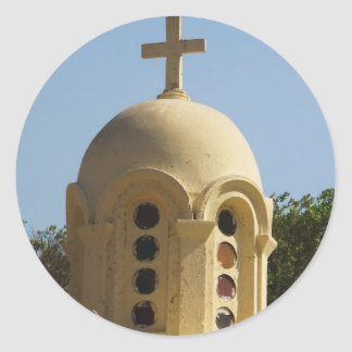 Old Coptic Church in Cairo, Egypt Stickers
