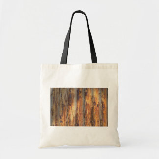 Old corrugated metal canvas bags