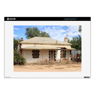 """Old cottage in country Australia 15"""" Laptop Skin"""