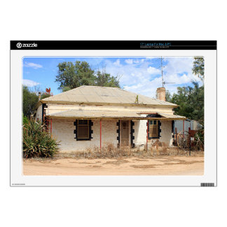 """Old cottage in country Australia 17"""" Laptop Skins"""